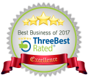 Best Business of 2017 - ThreeBest Rated